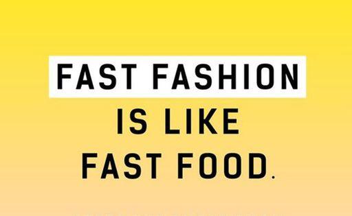 fast fashion fast food