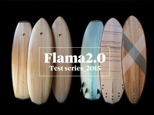 Flama wood boards